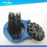 CNC подвергая изготовленный на заказ алюминиевую треногу механической обработке камеры возглавляет части