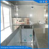 Ys-Fv450A 4.5m Karren van de Catering van de Keuken van het Roestvrij staal de Mobiele voor Verkoop