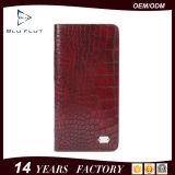 Бумажник карманн неподдельной кожи тавра логоса длинней конструкции способа изготовленный на заказ для людей
