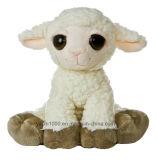 Oveja de juguete de peluche suave personalizada para bebé