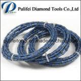 O fio das ferramentas de estaca da potência do diamante viu para o granito de mármore
