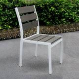Belt and Road Produtos promocionais Móveis para exterior Jardim Piquenique em pó Pulverização Alumínio Mesa de cadeira de madeira Set de mesa