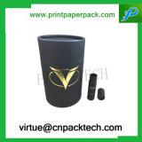 単一のワイン・ボトルのための処理および再生利用できる円形機能ボックス