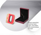 Bella retro scatola di presentazione rossa di plastica del regalo di stile cinese