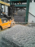 4300mm Weaving Mesh Width New Double Rack Drive Gabion Box Machine, Hexagonal Mesh Machine