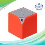Rotes Quadrat-drahtloser Minilautsprecher mit Mic