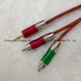 Hot 3.5 Stereo Plug to 2r Metal / AV Cable