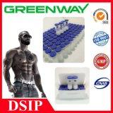 Peptide químico farmacêutico Dsip Dsip esteróide para a indução do sono do delta