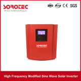 híbrido de 2kVA 24VDC del inversor de la energía solar de la red usado para la PC