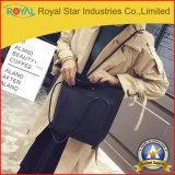 형식 PU 가죽 큰 수용량 덧대어깁기 핸드백 단 하나 어깨에 매는 가방