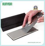 Afilador de cuchillo recubierto de diamante de doble cara para cinceles y cuchillas planas, etc.