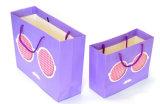 Bolsa de papel al por mayor reciclable del regalo de la muestra libre