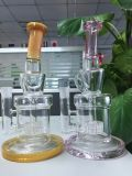 Tubulações de água de vidro do projeto novo o mais barato coloridas para Tabacco