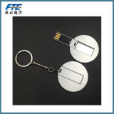 Movimentação feita sob encomenda do flash do USB da vara creativa do USB da corrente chave