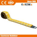 Gelber Farben-Verkehrssicherheit-beweglicher Geschwindigkeits-Plastikbuckel