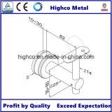 Corchete ajustable del acero inoxidable para la barandilla de cristal del pasamano