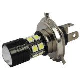 Indicatore luminoso di nebbia automatico impermeabile della lampada H4 Hi/Lo 7W CREE+5050 12SMD LED di vendita calda