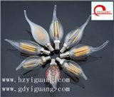 E14 220V/110V 3W C35 LED Kerze-Birne, TUV/UL/GS