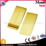 Clip de alta calidad en acero inoxidable personalizada esmalte suave dinero