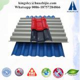 Mattonelle ondulate di plastica superiori della resina del tetto asa del materiale da costruzione