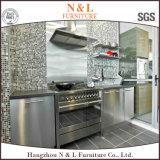 N&L水証拠のステンレス鋼BBQの屋外の食器棚
