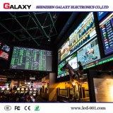 Alta pequeña pantalla de visualización publicitaria de interior de LED de la echada HD del pixel del brillo P2/P2.5/P3