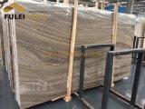 Marmo di legno della vena delle lastre di marmo grige di legno