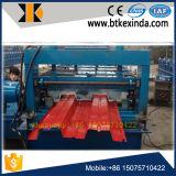 Rodillo de la cubierta de suelo del metal que forma la máquina