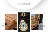 De alta calidad retro MDF caoba barnizada caja de regalo de cigarro