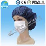 máscaras tejidas quirúrgicos desechables cara con el embalaje pe