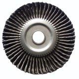 4inch鋼線のM14X2の結ばれた車輪のブラシ