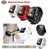 Bluetooth 지능적인 전화 인조 인간 Ios 검정을%s 적합했던 지능적인 시계 손목 시계 U8 U 시계
