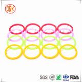 Колцеобразное уплотнение уплотнения силикона цветастое резиновый