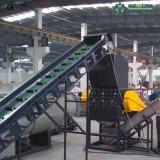Película inútil de los PP del PE que se lava reciclando la máquina con la consumición de poca energía