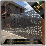 De Ontwerpen van het Aluminium van de Poort van het Huis van de Besnoeiing van de laser