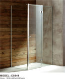 フランス人のシャワー機構、インドの6mmガラスの浴室のシャワー室の価格