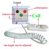 Sistema de chamada paciente da enfermeira da tecla do cabo da tração Emergency