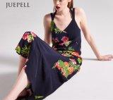 Vestito Halterneck tropicale dalla spiaggia della stampa floreale