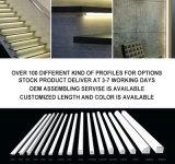 P/N 4228. Extrusion en aluminium extérieure ronde de profil du support DEL de qualité