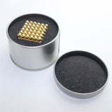 кубик 5mm 6mm нео покрасил 216 магнитных шариков Neodym сильных магнитных для сбывания