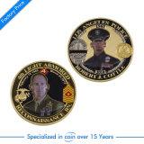 Pièce de monnaie faite sur commande en gros de souvenir de mode pour la police militaire