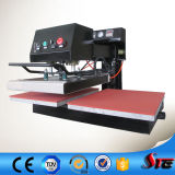 Cer genehmigte die pneumatischen doppelten Stationen, die Hauptwärme-Presse-Maschine rütteln