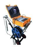 câmera da inspeção do poço profundo da perfuração do CCTV de 300m a de 500m com cabeça de câmera dupla e função contrária do medidor