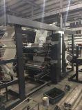 Alta velocidad bolsas tejidas PP rollo a rollo máquina de impresión flexográfica con Larga Distancia (NX 4800)
