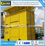 Dockside Zufuhrbehälter-bewegliches Gewichtung-Einsacken-Maschinen-Korn-Nahrungsmittelcontainerisiertes Einsacken-Gerät