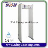 Camminata completa del Archway dello scanner del corpo tramite il metal detector con l'indicatore della striscia dei 6 LED