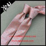 Laço tecido do jacquard dos homens do nó jacquard 100% de seda Handmade perfeito