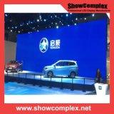 Showcomplex 7mm SMD 사건을%s 실내 풀 컬러 임대 발광 다이오드 표시 스크린