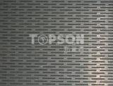 Placa de aço inoxidável para o revestimento perfurado decoração