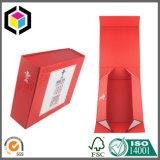 Rectángulo de papel de la cartulina del regalo de lujo de la joyería con la guarnición interna